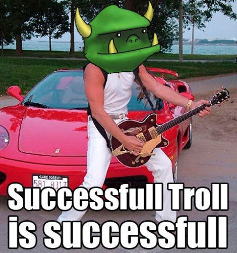 successfull-troll