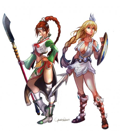 Soungmina_and_Sophitia_by_seeso2d