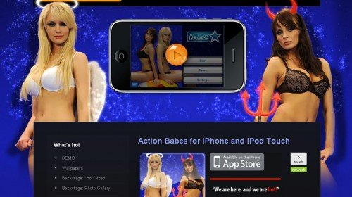 action-babes-iphone