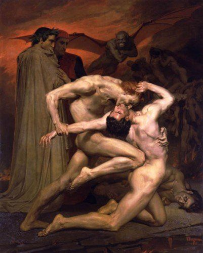 102408william-adolphe_bouguereau_1825-1905_-_dante_and_virgil_in_hell_1850