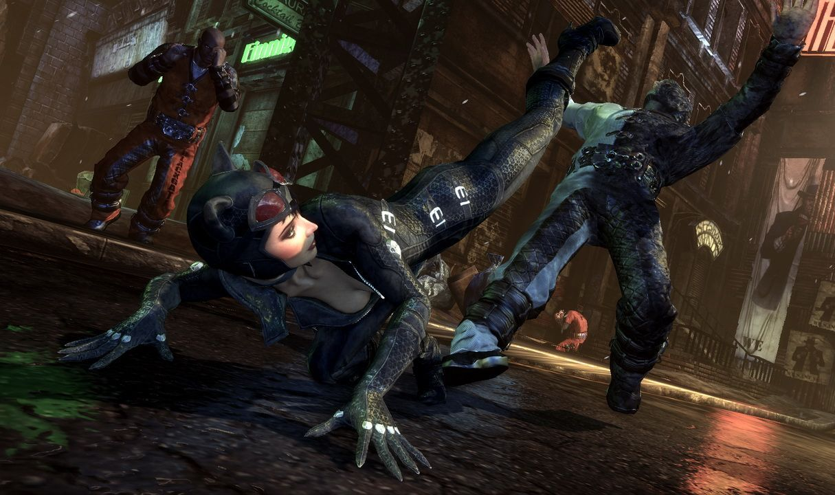 Arkham city cutscenes with nude girl mod hentia fantasy bitch