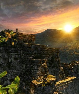 Uncharted Golden Abyss SunsetTop Vertigo 01 320x384 Про Uncharted: Golden Abyss