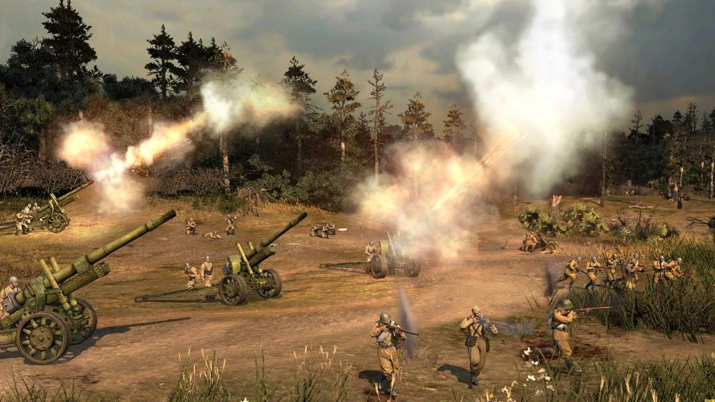 companyofheroes2onlineartillerybombardment