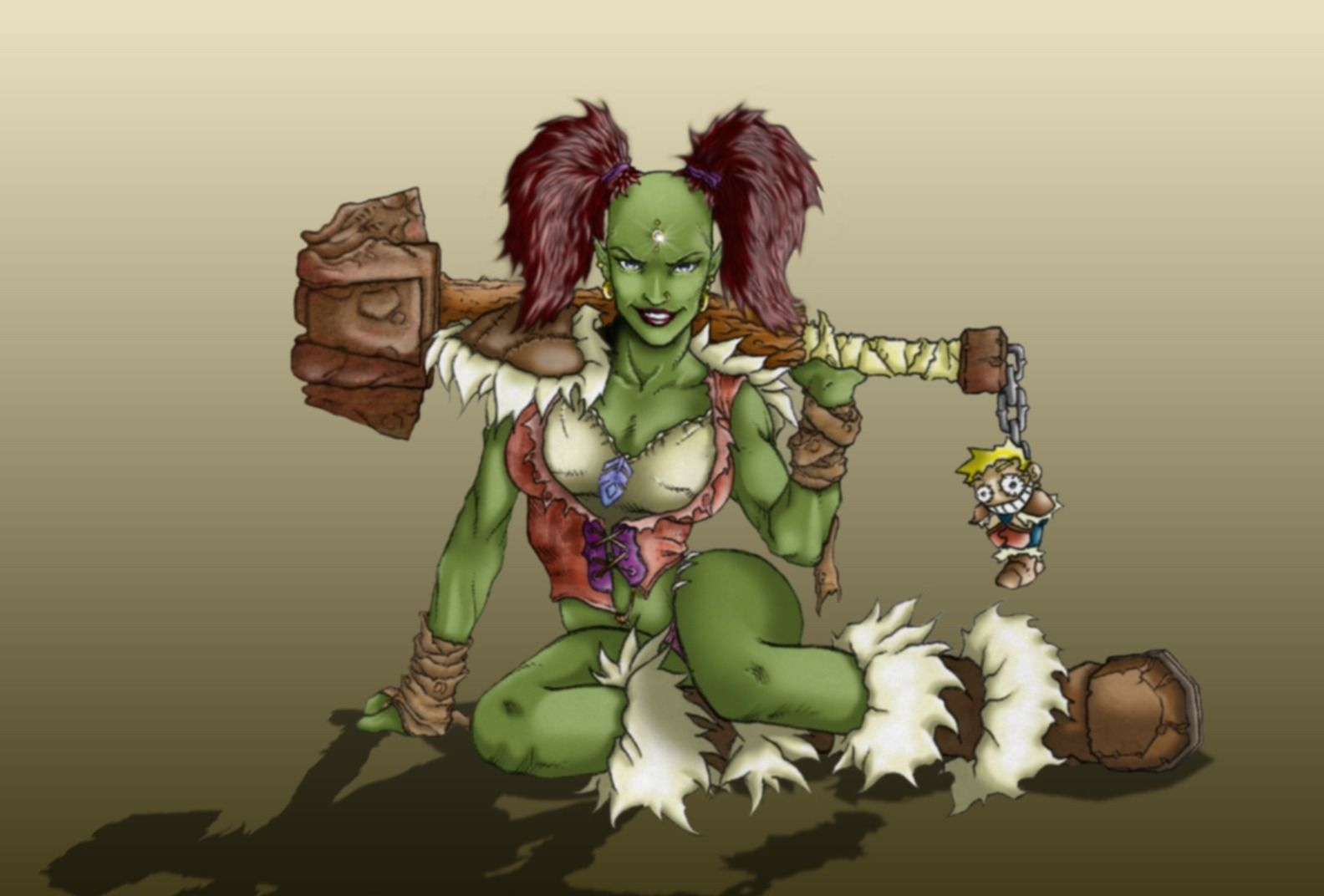 Wow orc blowjob sex videos